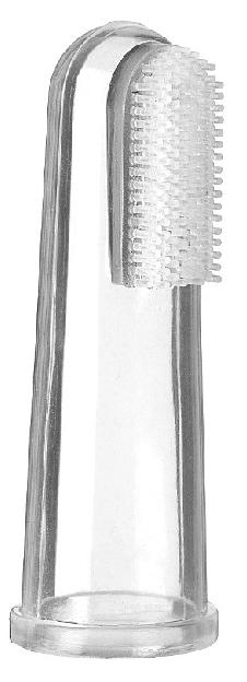 dedal de silicona para bebes